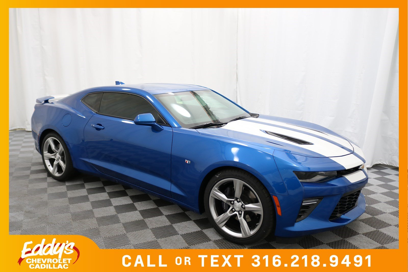 new 2018 chevrolet camaro ss coupe in wichita cc4941 eddy 39 s chevrolet cadillac. Black Bedroom Furniture Sets. Home Design Ideas