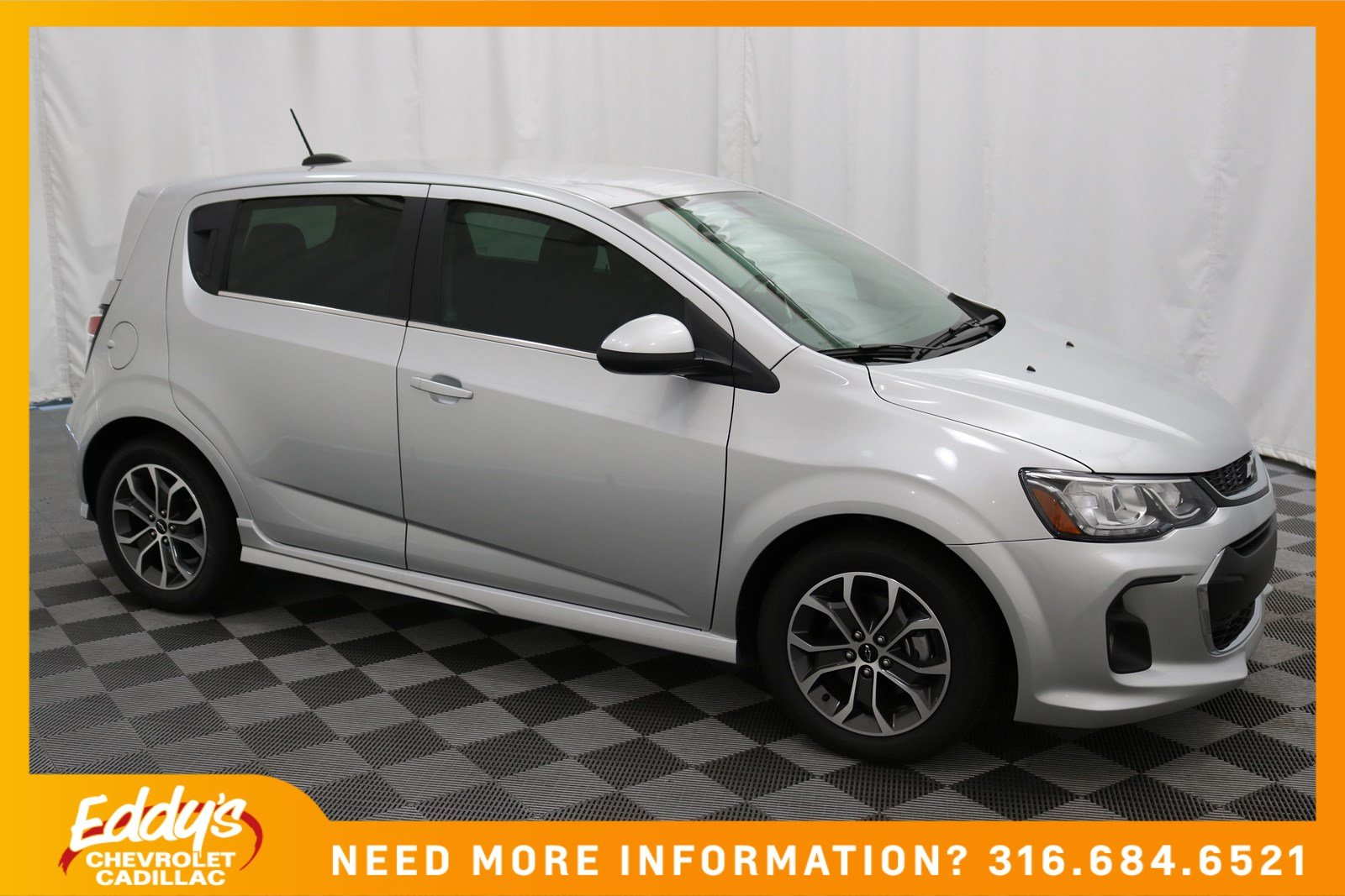 New 2018 Chevrolet Sonic LT Hatchback In Wichita #CC5265