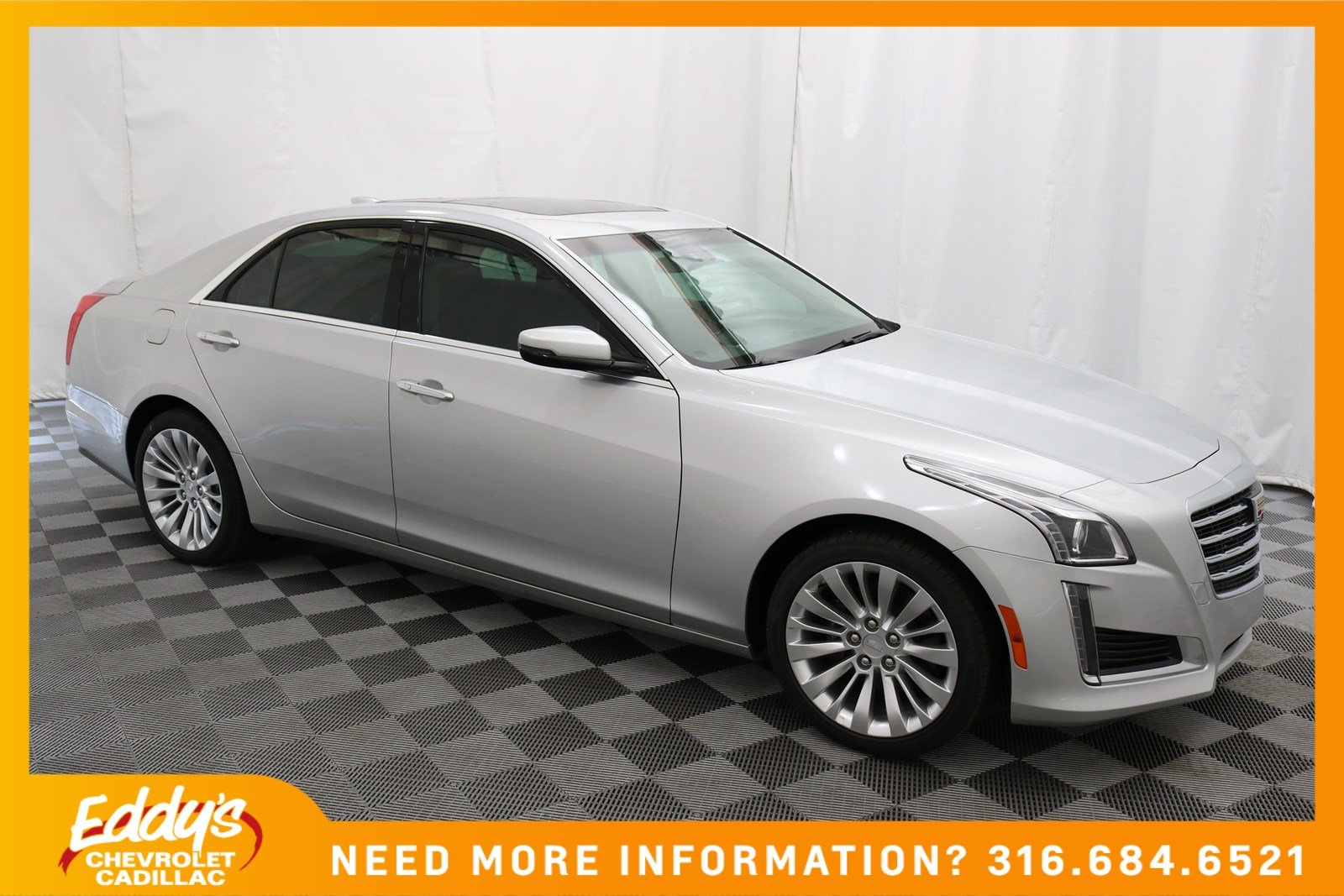 New 2018 Cadillac Cts Sedan Luxury Rwd Sedan In Wichita Cd5263