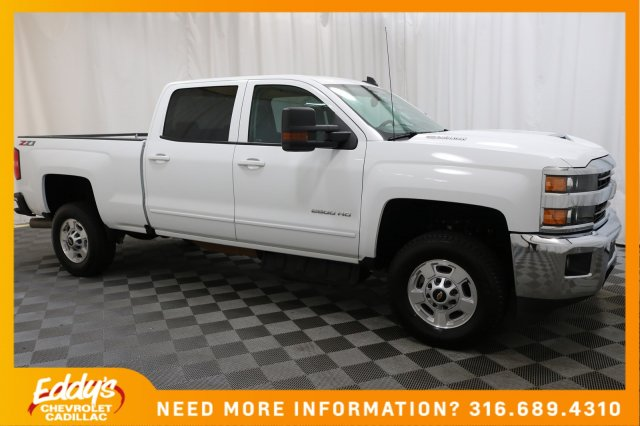 Pre-Owned 2018 Chevrolet Silverado 2500HD Crew Cab LT 4x4