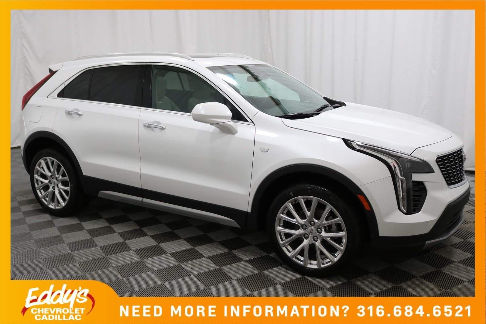 New 2019 Cadillac Xt4 Fwd Premium Luxury Sport Utility In Wichita