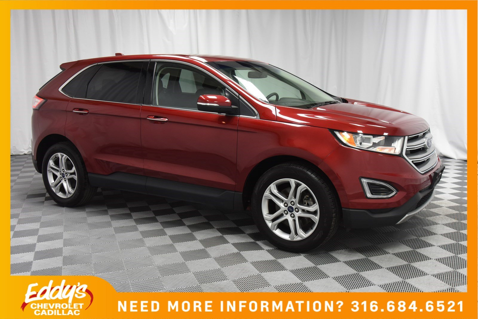 Pre-Owned 2017 Ford Edge Titanium All-Wheel Drive
