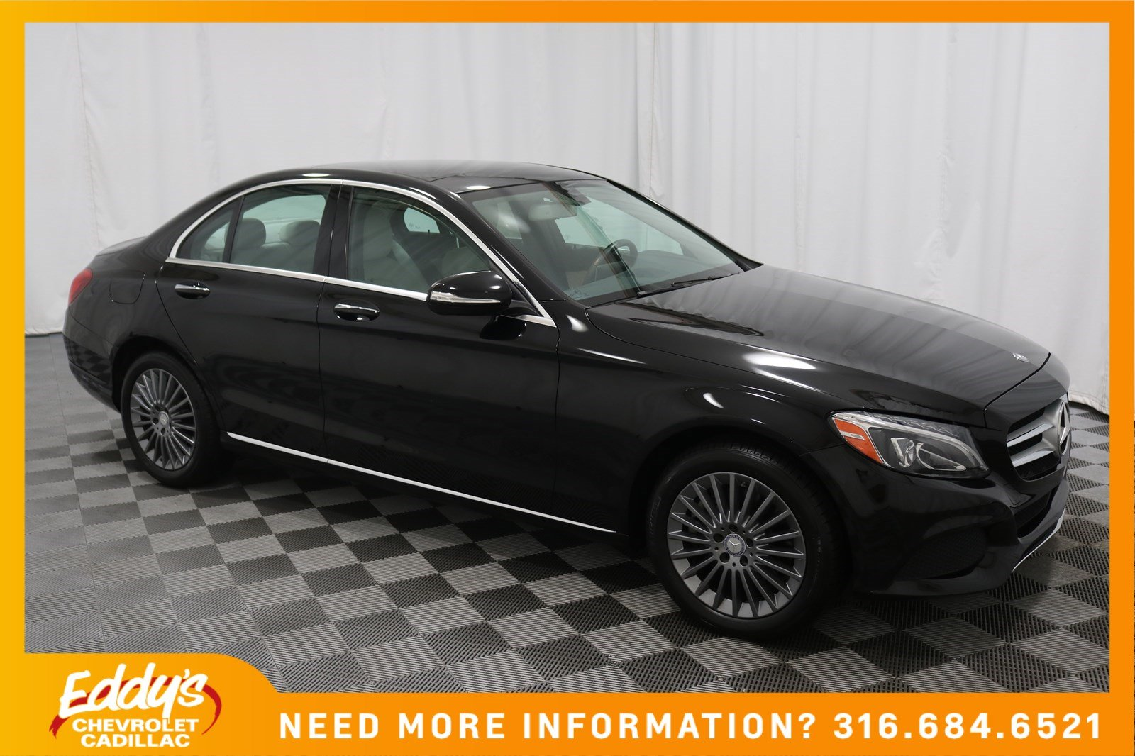 Pre-Owned 2015 Mercedes-Benz C-Class C 300 All-Wheel Drive