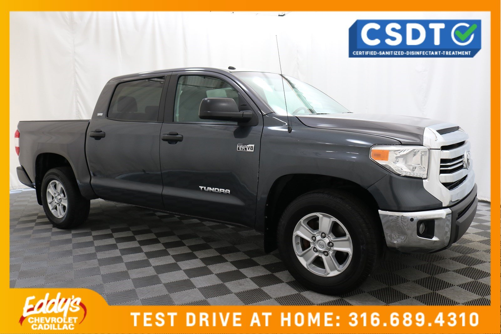 Pre-Owned 2017 Toyota Tundra 2WD Crew Cab SR5