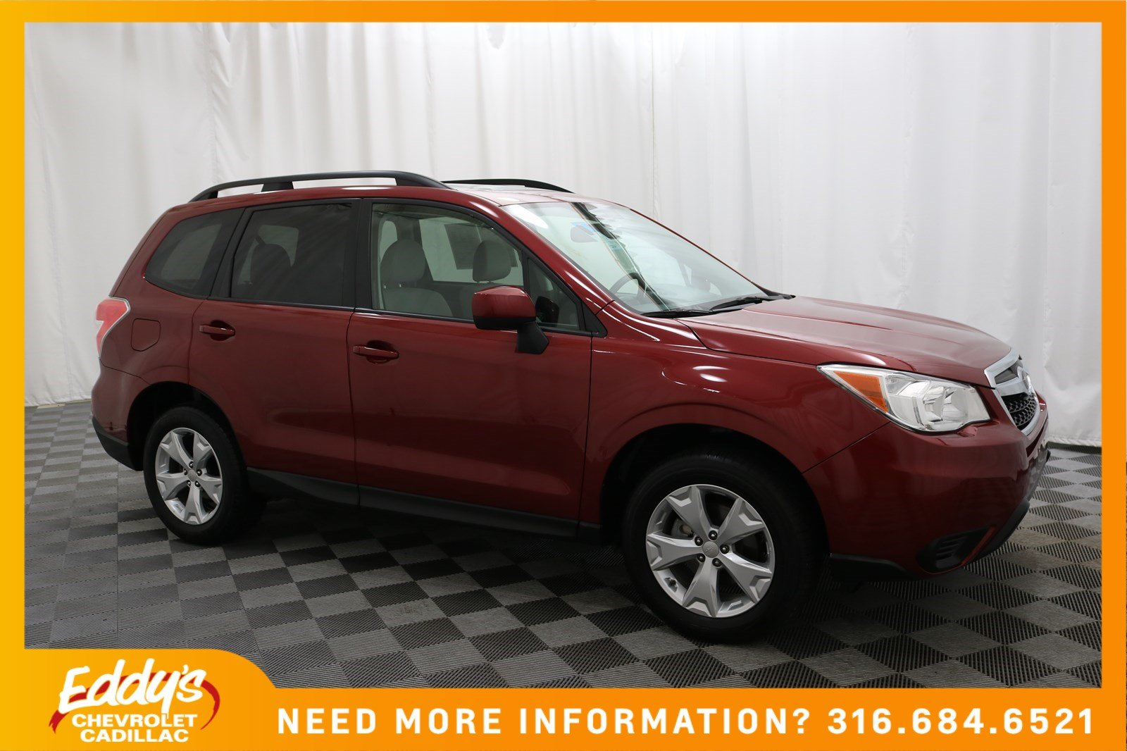 Pre-Owned 2016 Subaru Forester 2.5i Premium All-Wheel Drive