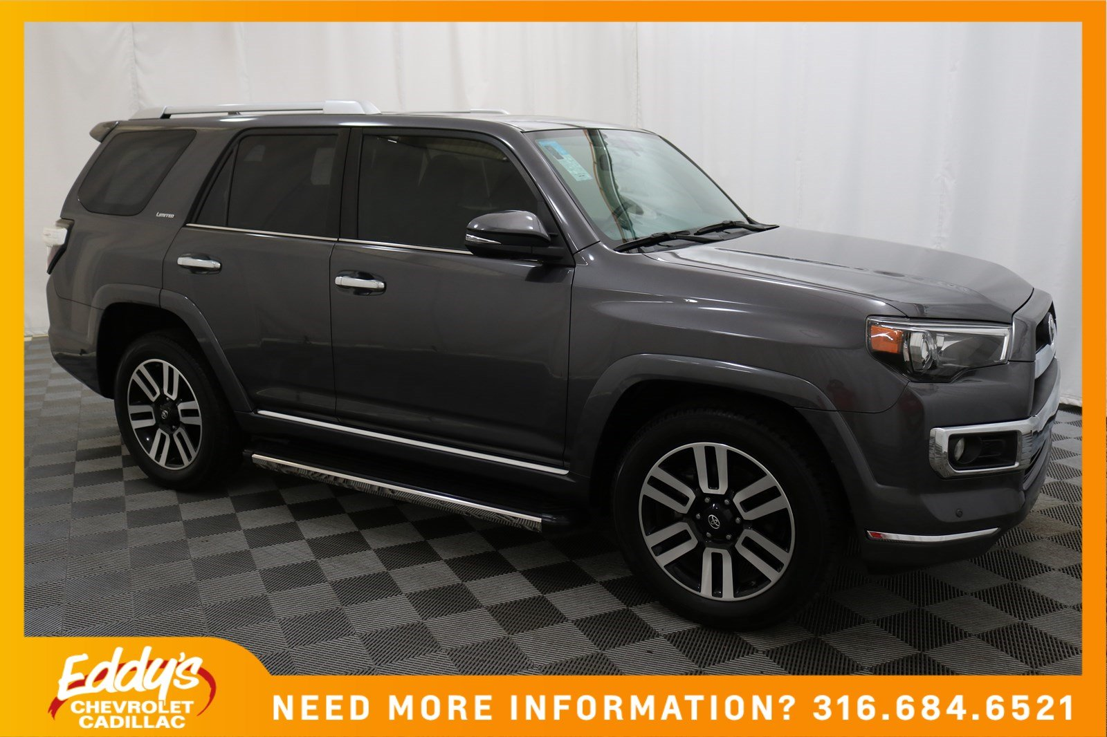 pre-owned 2015 toyota 4runner sr5 suv in wichita #p4480a | eddy's