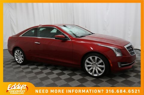 Pre-Owned 2015 Cadillac ATS Coupe Luxury All-Wheel Drive