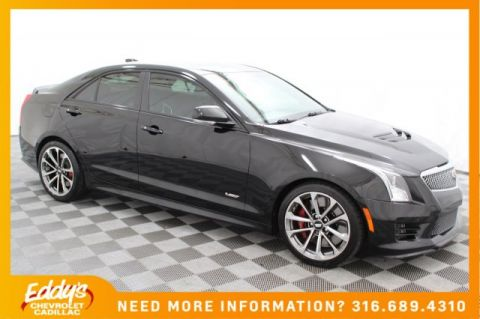 Pre-Owned 2016 Cadillac ATS-V Sedan Base