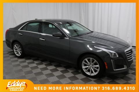 Pre-Owned 2018 Cadillac CTS Sedan All-Wheel Drive