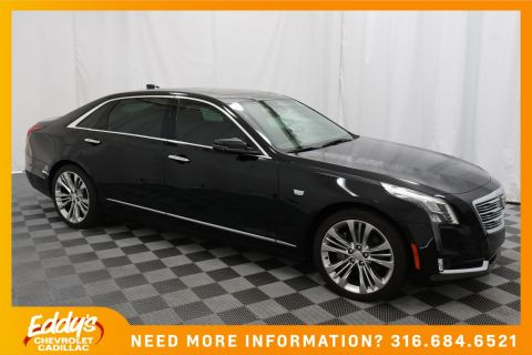 New 2018 Cadillac CT6 Sedan Luxury All-Wheel Drive Turbo